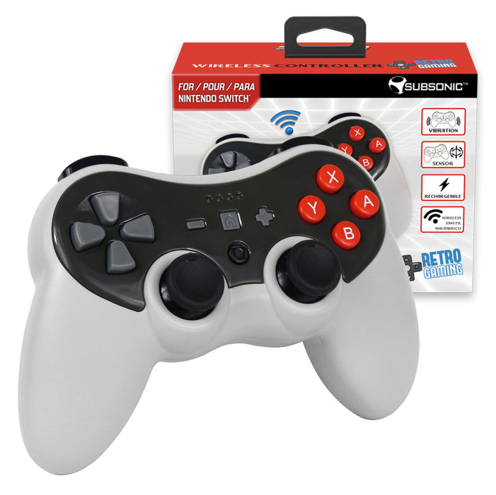 Subsonic Bluetooth Wireless Retro PRO-S Controller For Nintendo Switch - SUB-5531