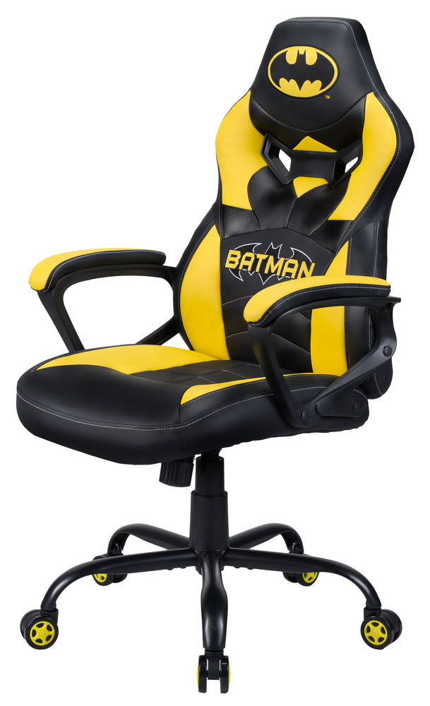 Subsonic Officially Licensed Batman Junior E-Sports Gaming Chair - Black/Yellow - SUB-5573/BAT