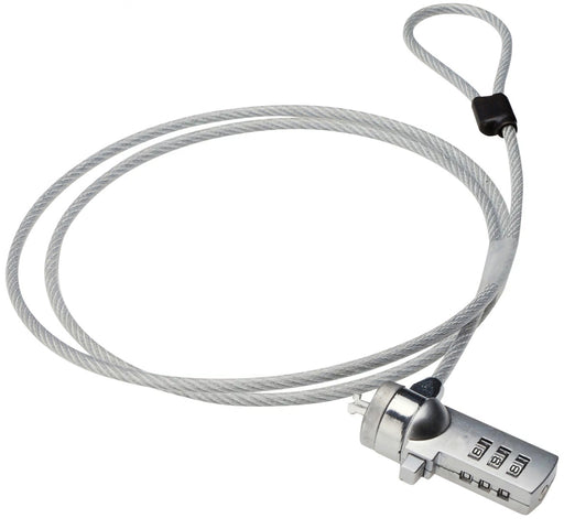 Multi Purpose Security Cable And Lock With Adjustable Combination For Laptop And Case Use - NB-LK-COMBO