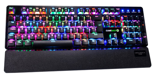 Game Max Strike Mechanical RGB Keyboard With Outemu Red Switch And Palm Rest - KB-GAM-STRIKE