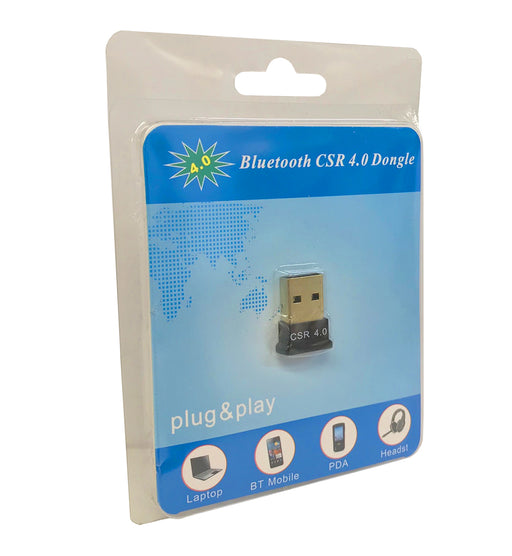 Bluetooth CSR 4.0 USB Adapter Plug and Play For Windows - USB-BT/V4