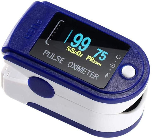 Vakoss Oximeter Fingertip Oxygen Level SpO2 Pulse Rate Monitor with LED Display - VAK-OXI