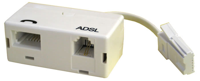 Viobyte ADSL Microfilter With Lead - ADSL-MF