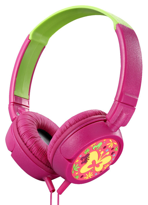 Amplify Kiddies Butterfly Tunez Childrens Sound / Volume Limiting Headphones - AMP-AM-2006/BFLY