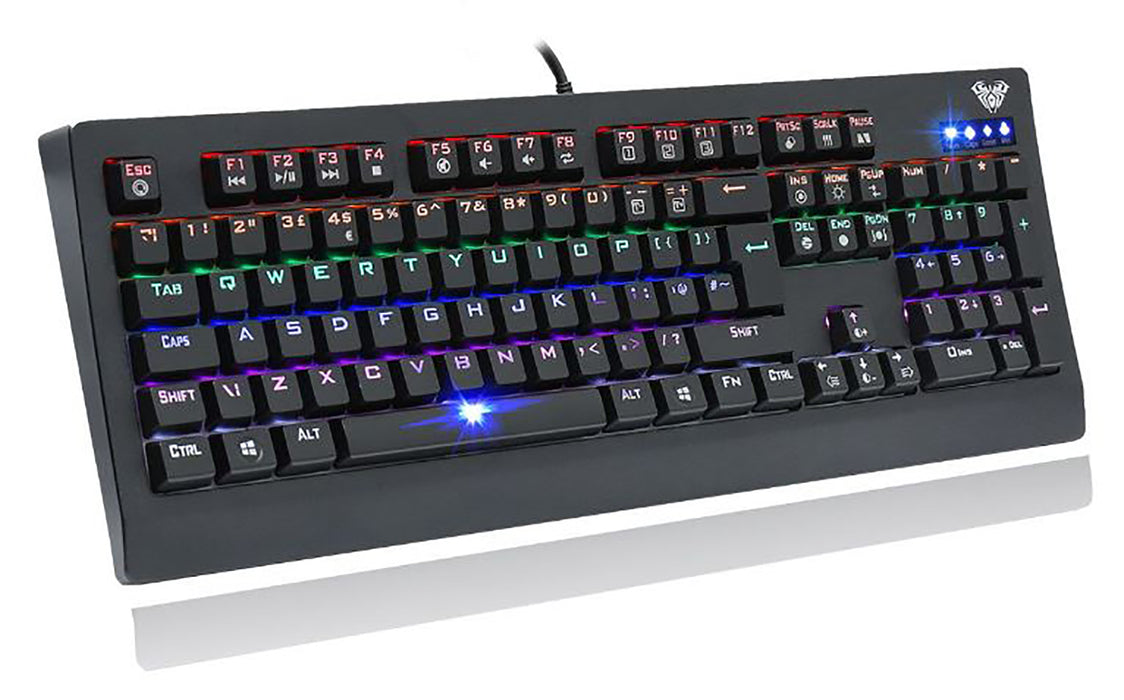 AULA Demon King Mechanical Wired Gaming LED Keyboard - KB-MECH/DEMON
