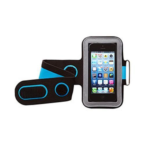 Groov-e GVAM1 High Quality Neoprene Sport Armband For Mobile Devices Black/Blue - GV-AM1/BLU