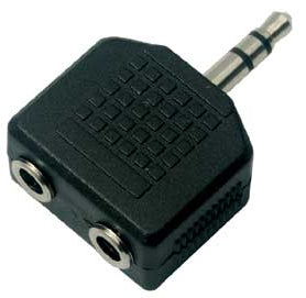 Viobyte 3.5mm Male To 2 x Female Sockets (Jack Splitter) - CB-AV-JKSPLIT
