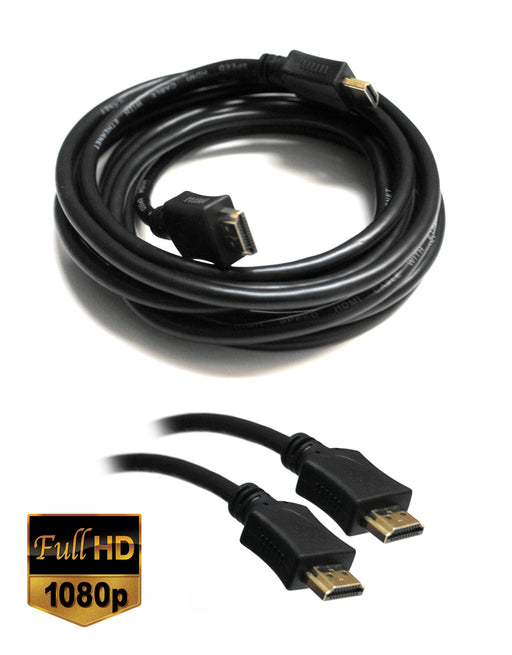 Dynamode High Speed HDMI Male to Male Cable 3 metre - Full HD 1080p - CB-DY-HDMI/3