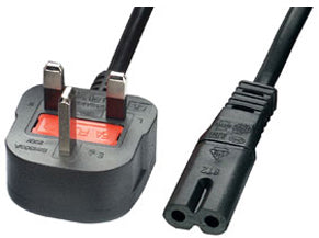 UK Figure 8 Power Cable - CB-PWR-FIG8
