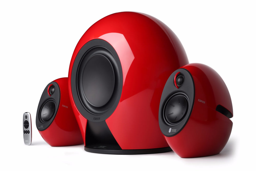 Edifier E235 2.1 THX Certified Active Bluetooth Speaker System - Gloss Red - CM-E235-RED/THX