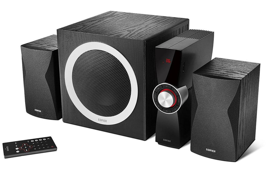Edifier C3X 2.1 Multimedia Speaker System - Black - CM-EDC3X