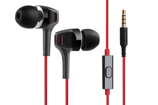 Edifier P265 Earbuds With Remote And Microphone - Gunmetal - EDFR-EAR-P265