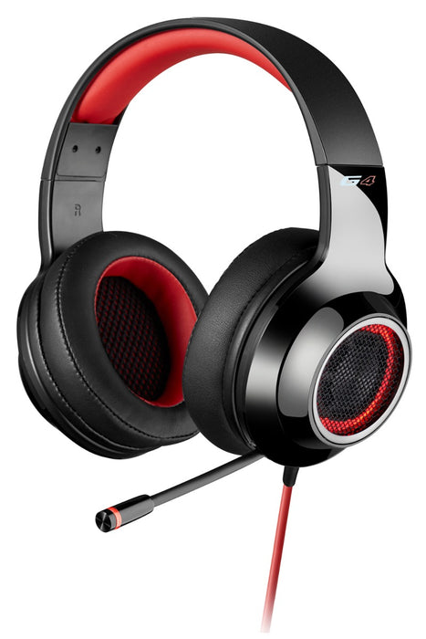 Edifier G4 Professional 7.1 Virtual Surround Sound USB Gaming Headset With Microphone - Red - EDFR-HS-G4/RED