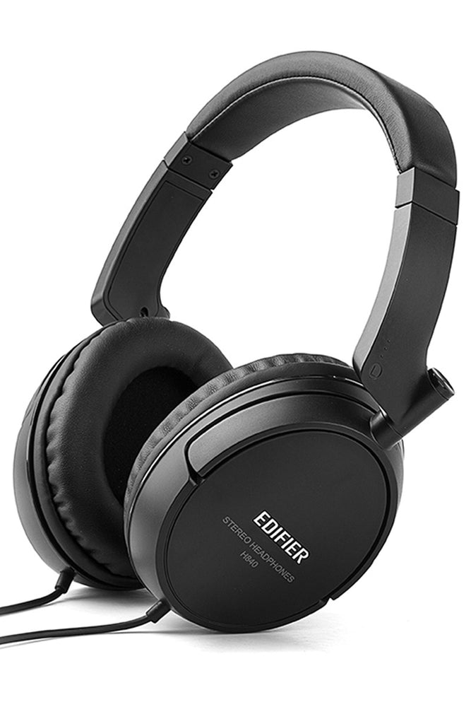Edifier H840 Professionally Calibrated Headphones - Black - EDFR-HS-H840