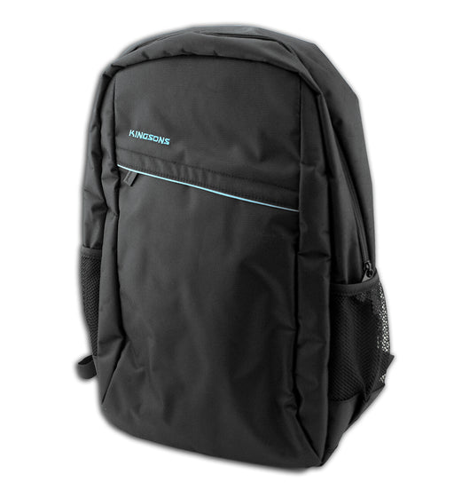 "Kingsons Spartan Series Laptop Backpack - Black - 15.6"" - KING-0047"