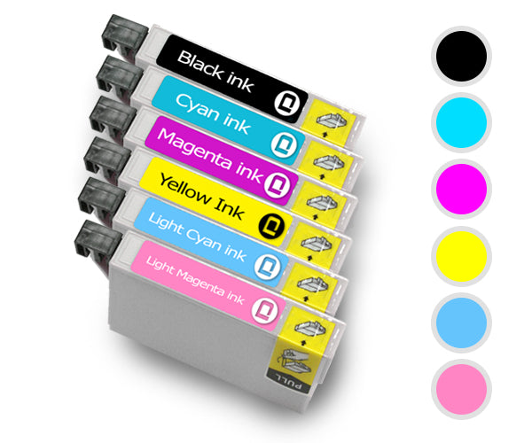 Epson T2437 XL Multipack Compatible Ink Cartridge - INK-E2437/COMBO