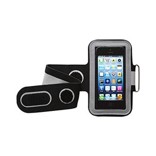 Groov-e GVAM1 High Quality Neoprene Sport Armband For Mobile Devices Black/Grey - GV-AM1/GREY