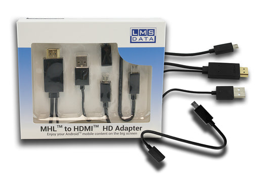 Universal MHL Adapter Cable - Multi Ended - CB-USB-MHL-MULTI