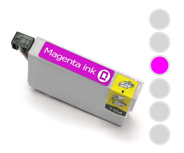 Brother LC-1240 Magenta Compatible Ink Cartridge - INK-B-LC1240M