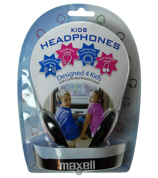 Maxell Kids Headphones - Blue - HS-MAX-KIDS