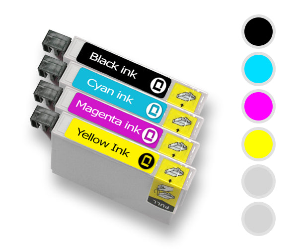 Epson T026/T027 Multipack Compatible Ink Cartridge - INK-E026/027/COMBI