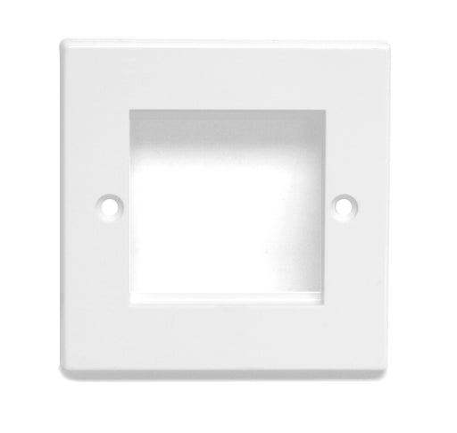 Dynamode Standard Single Face Plate For Network Switches - NET-DY-SNGLE/FP