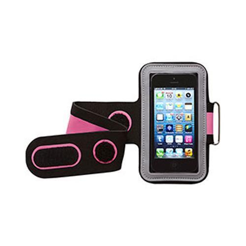 Groov-e GVAM1 High Quality Neoprene Sport Armband For Mobile Devices Black/Pink - GV-AM1/PNK