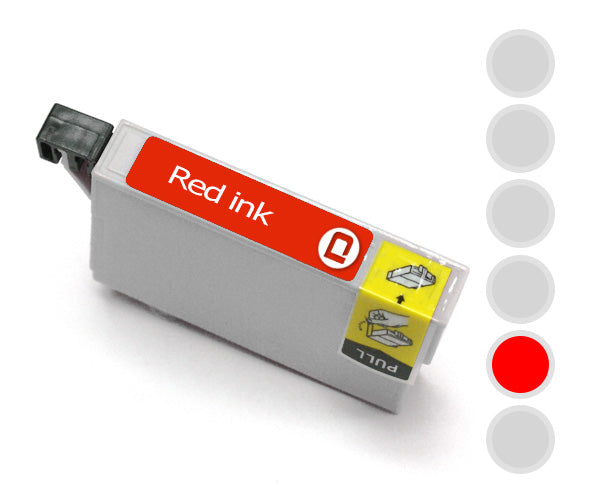 Epson T0547 Red Compatible Ink Cartridge - INK-E547