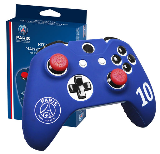 Subsonic Official Paris Saint-Germain Silicone Cover For Xbox One Controller - With Thumb Grips - SUB-5324/PSG