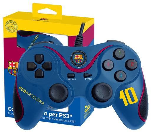 Subsonic Official Barcelona Wired Controller For Playstation 3 PS3 - SUB-5326/BARCA