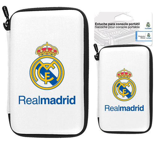 Subsonic Official Real Madrid Hard Carry Case For Nintendo DS, 3DS / XL & Sony PSP, PS VITA - SUB-5369/RM