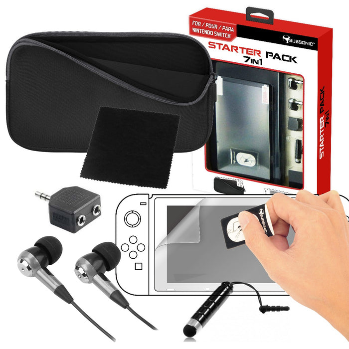 Subsonic 7 In 1 Starter Pack For Nintendo Switch - SUB-5393