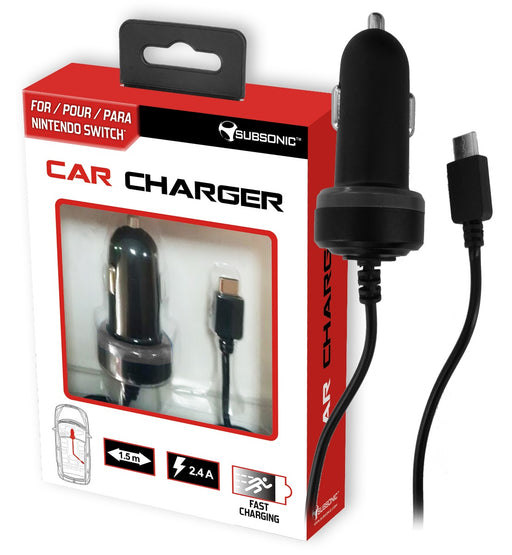 Subsonic Car Charger For Nintendo Switch - 1.5M - SUB-5408