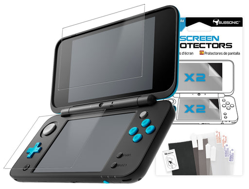 Subsonic Screen Protectors For New Nintendo 2DS / 3DS - 2 Sets - SUB-5424