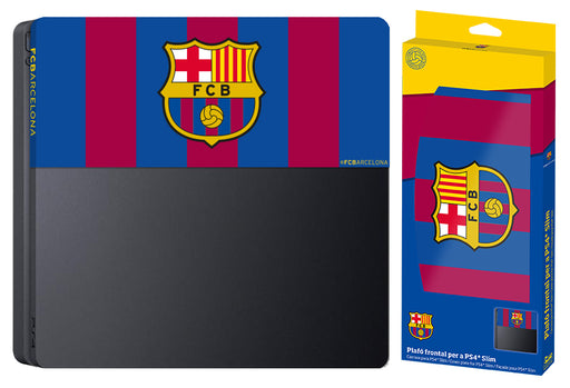 Subsonic Official Barcelona Custom Faceplate For Playstation 4 PS4 Slim - SUB-5441/BARCA
