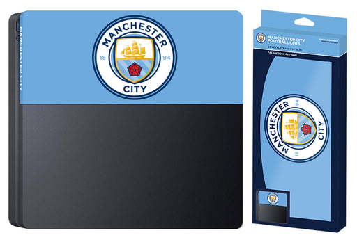 Subsonic Official Manchester City Custom Faceplate For Playstation 4 PS4 Slim - SUB-5441/MCFC