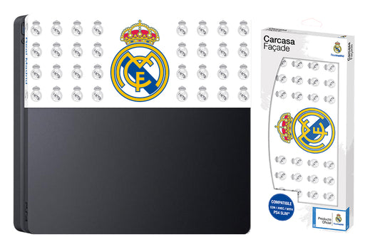Subsonic Official Real Madrid Custom Faceplate For Playstation 4 PS4 Slim - SUB-5441/RM