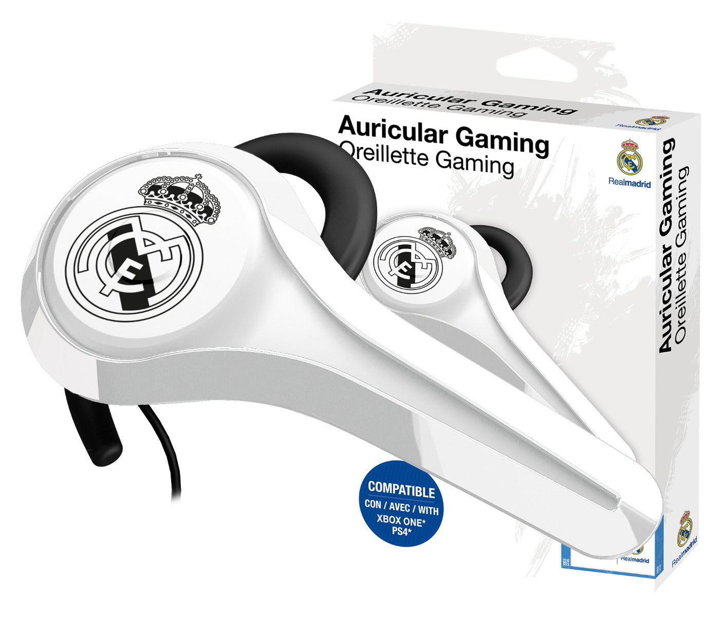 Subsonic Official Real Madrid Wired Gaming Headset For Playstation 4 PS4 & Xbox One - SUB-5445/RM