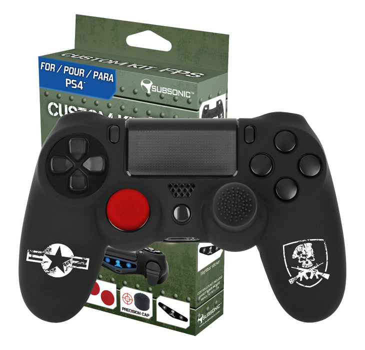 Subsonic FPS Edition Custom Gaming Kit For Playstation 4 PS4 Controller - SUB-5447