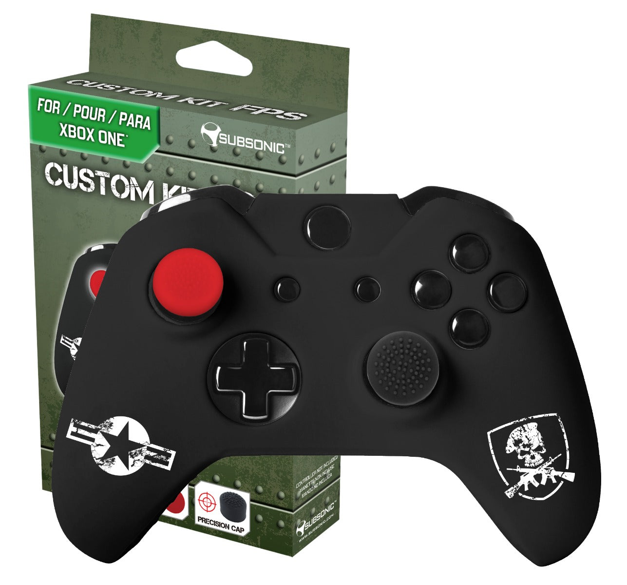 Subsonic Fps Edition Custom Gaming Kit For Xbox One Controller