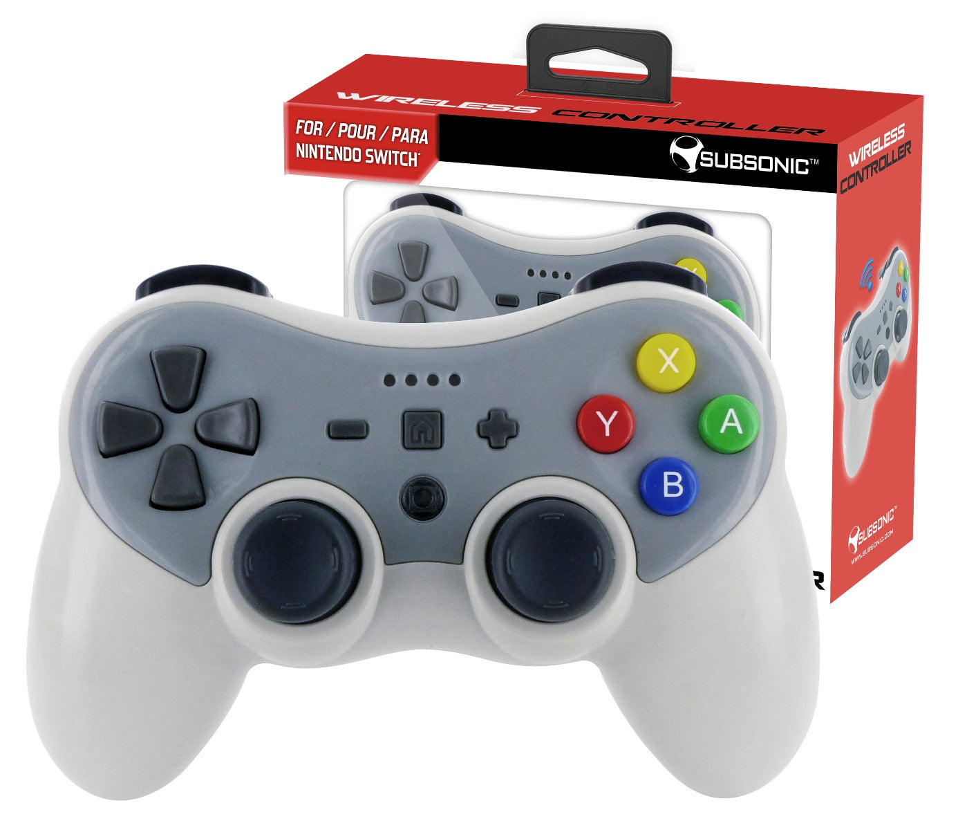 Subsonic Bluetooth Wireless Controller For Nintendo Switch - SUB-5449