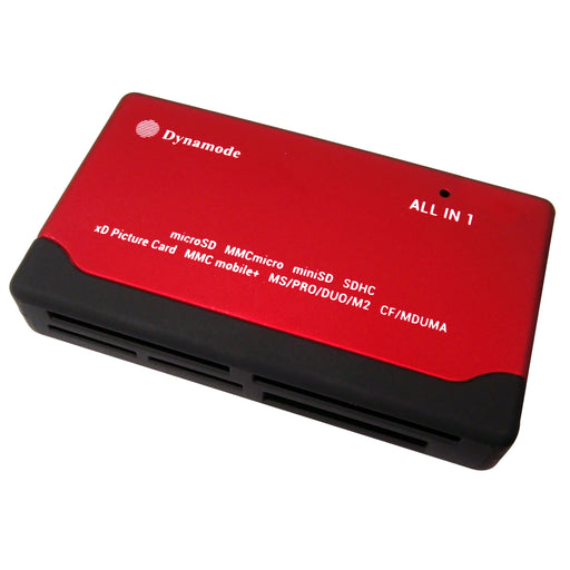 Dynamode 6 Port USB Powered External Memory Card Reader - EXT-DY-CARD/RED