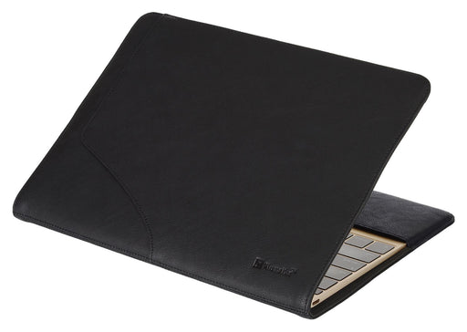 "XtremeMac Slim & Lightweight PU Leather Case For Macbook 12"" Retina - Black - XM-MBC-SL12-13"