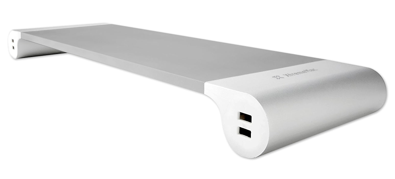 XtremeMac Aluminium Computer / Monitor Stand With Built In USB Hub - XM-STAND1-SLV