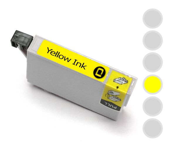 HP 363 Compatible Yellow - INK-HP363Y