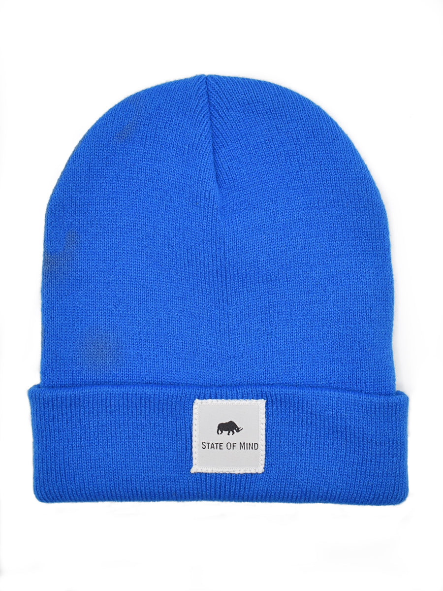 Electric Blue Beanie