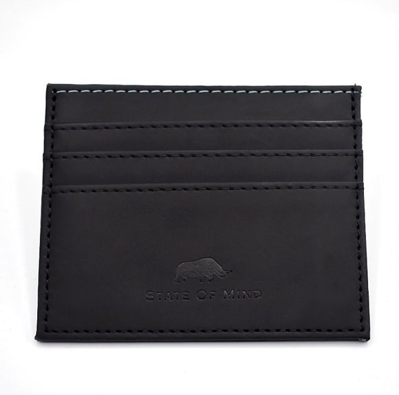 Vegan Leather Wallet - Black