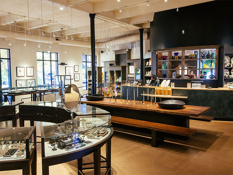 Twist portland oregon store designer jewelry interior