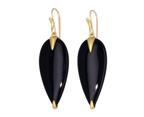 Onyx Simple Bird Earrings - TWISTonline