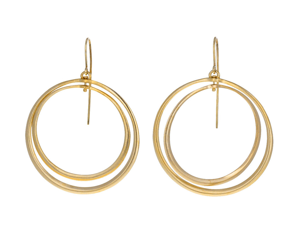Nested Dangling Hoop Earrings